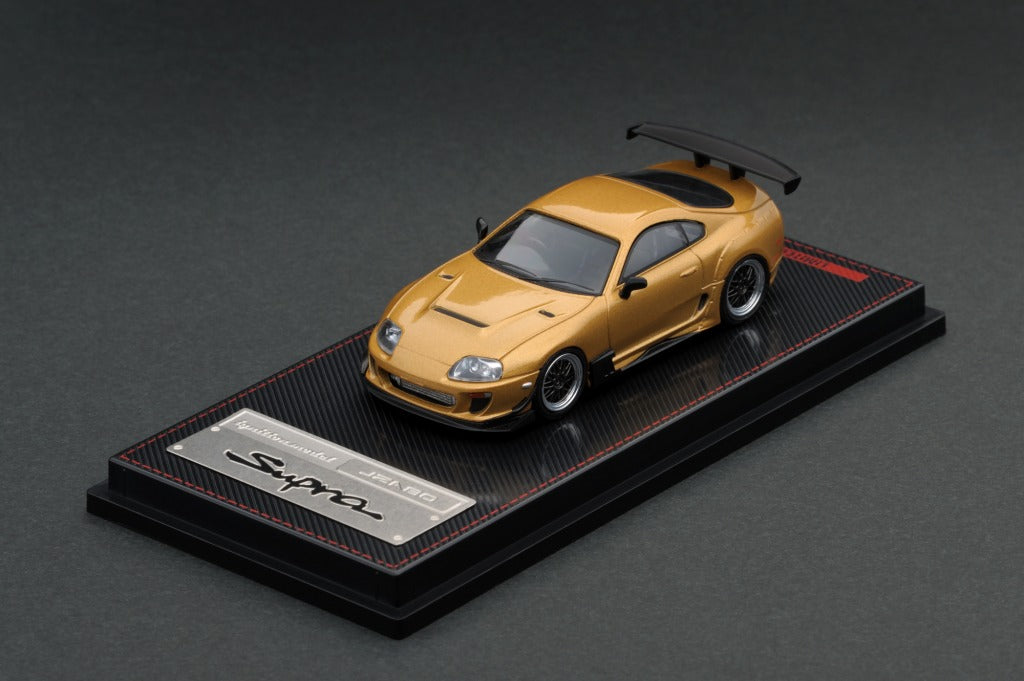Ignition Model 1/64 Toyota Supra JZA80 RZ Gold
