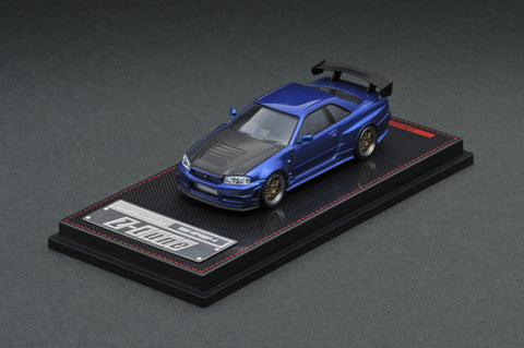 Ignition Model 1/64 Nismo R34 GT-R Z-tune Blue Metallic