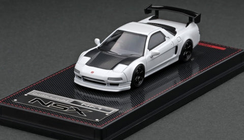Ignition Model 1/64 Honda NSX (NA1) Matte Pearl White