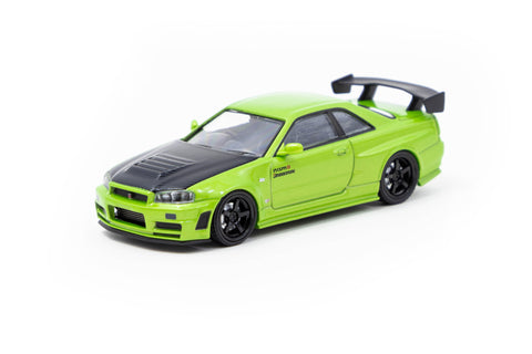 Ignition Model 1/64 Nismo R34 GT-R Z-tune Green Metallic - Special Edition