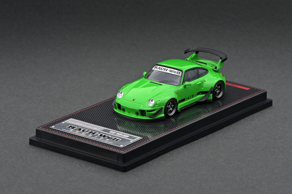 Ignition Model 1/64 RWB 993 Green Metallic