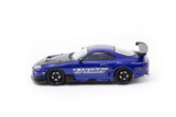 Ignition Model 1/64 Toyota Supra JZA80 RZ Blue Metallic - GReddy Ver.