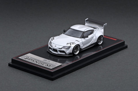 Ignition Model 1/64 PANDEM Supra (A90) Pearl White
