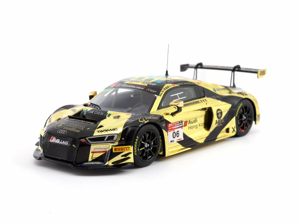 Minichamps x Tarmac Works 1/43 Audi R8 LMS - AAPE by A Bathing Ape - China GT Championship 2017 - Marchy Lee/ Alex Au