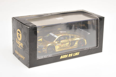 "Minichamps x Tarmac Works 1/43 AUDI R8 LMS  - AAPE by A Bathing Ape - MARCHY LEE  - FIA GT WORLD CUP MACAU 2016 ""2nd Edition"""