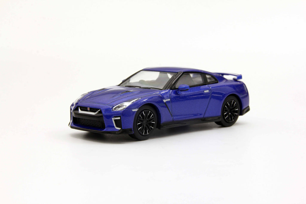 Kyosho 1/64 Nissan GT-R 50th Anniversary Blue
