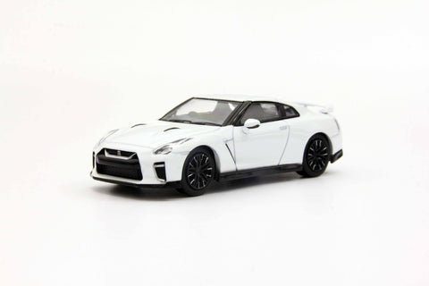 Kyosho 1/64 Nissan GT-R 50th Anniversary White