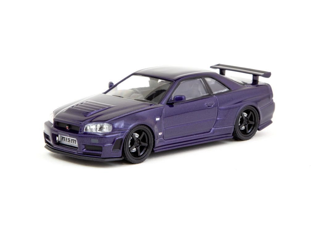 Ignition Model 1/64 Nismo R34 GT-R Z-tune Purple Metallic
