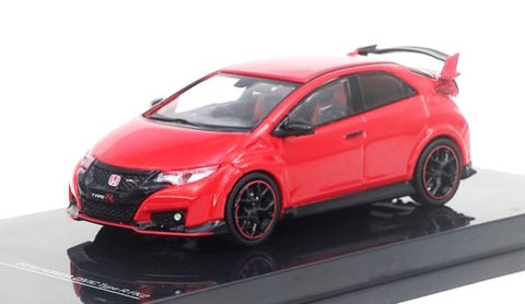 Tarmac Works 1/64 Honda Civic Type R FK2 Milano Red