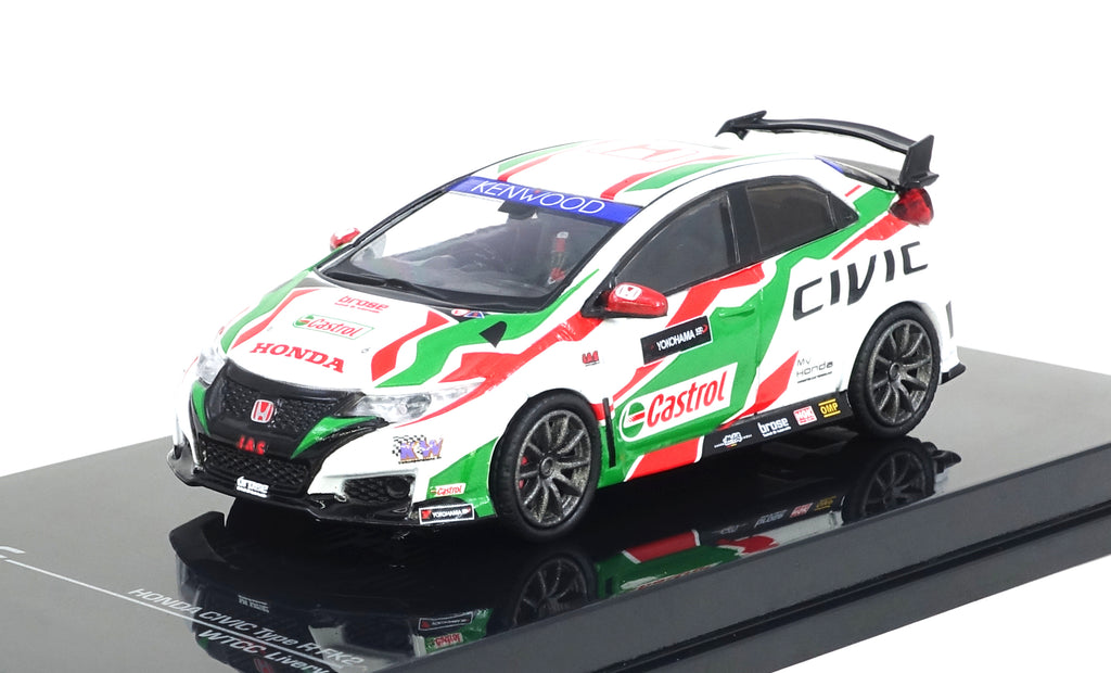 tarmac works 1 64 honda civic type r fk2 touring car livery. Black Bedroom Furniture Sets. Home Design Ideas