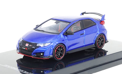 Tarmac Works 1/64 Honda Civic Type R (FK2) Brilliant Sporty Blue Metallic - ROAD64