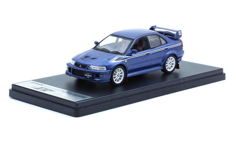 Tarmac Works 1/43 Mitsubishi Lancer Evo 6.5 Tommi Makinen Edition Blue - T43-004-BL
