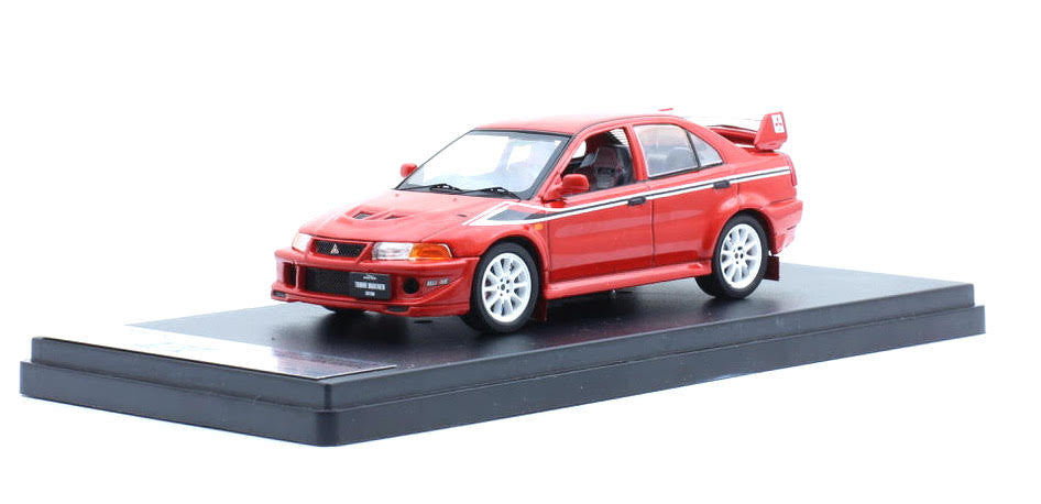 Tarmac Works 1/43 Mitsubishi Lancer Evo 6.5 Tommi Makinen Edition Red - T43-004-RE