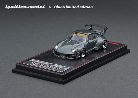Ignition Model 1/64 RWB 993 Gun Metallic - China Limited Edition