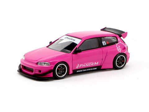 *MiniCar Festival Hong Kong 2019 Special Edition* Ignition Model 1/64 PANDEM CIVIC (EG6) Pink