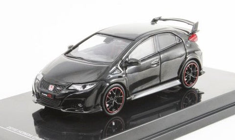 Tarmac Works 1/64 Honda Civic Type R (FK2) Crystal Black Pearl - ROAD64