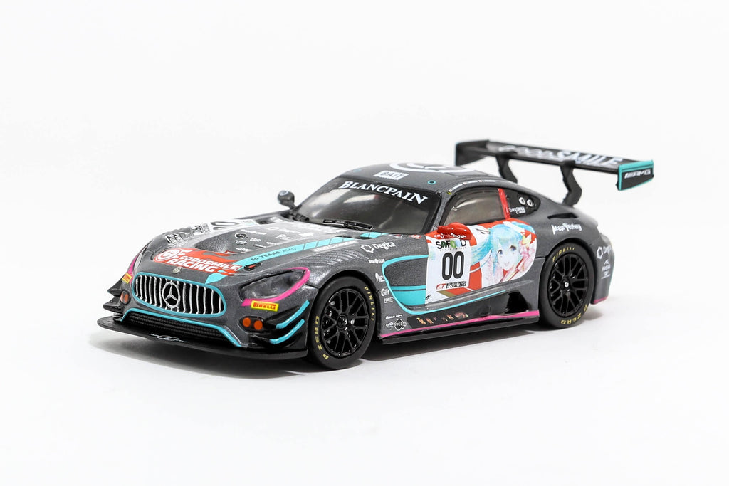 *MiniCar Festival Taiwan 2018 Exclusive Model* Tarmac Works 1/64 Mercedes-AMG GT3 24 Hours of Spa 2017 #00