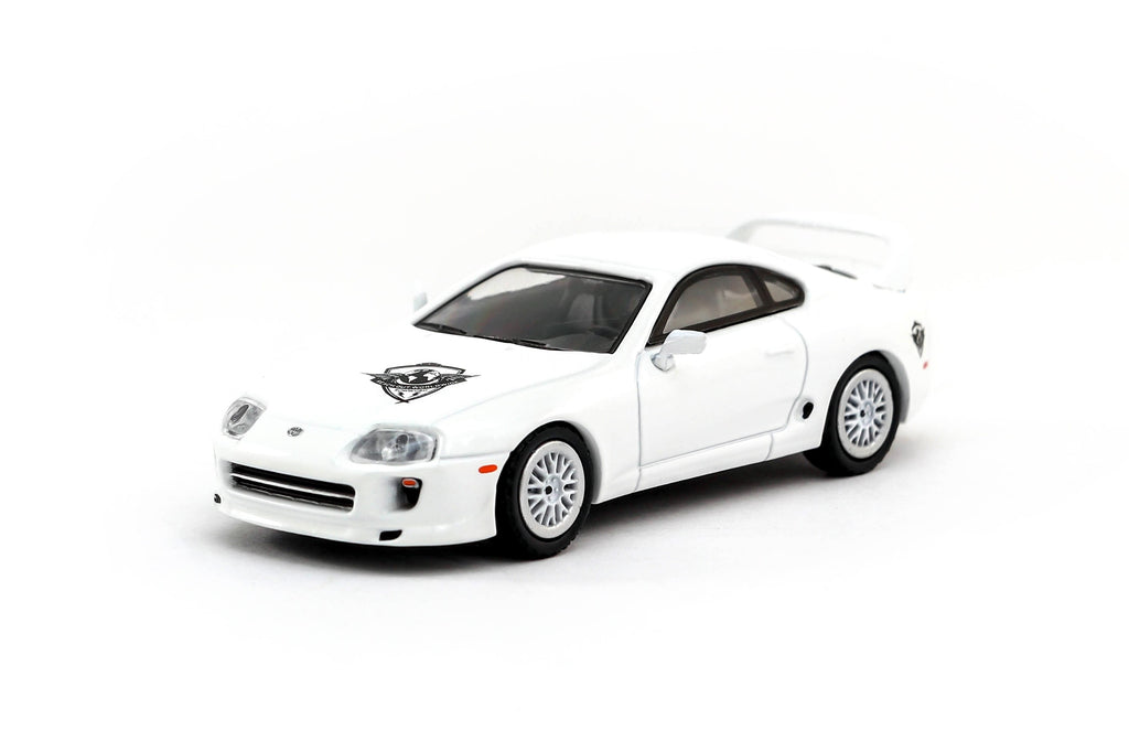Tarmac Works 1/64 Toyota Supra ROWW Reach Out Worldwide