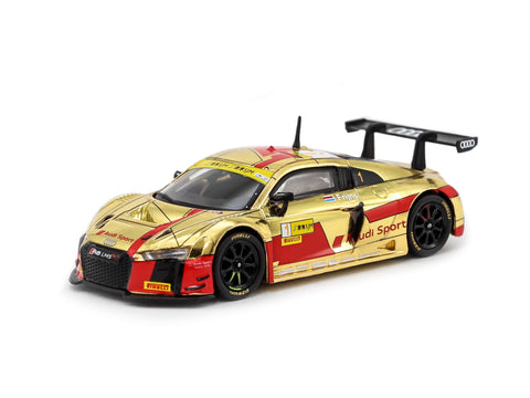 Tarmac Works 1/64 Audi R8 LMS Macau GT Cup - FIA GT World Cup 2017 #1 - 2nd Place - Macau GP Special Edition - HOBBY64