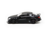 KJ Miniatures 1/64 LBWK Mercedes-Benz C63 Coupe Black