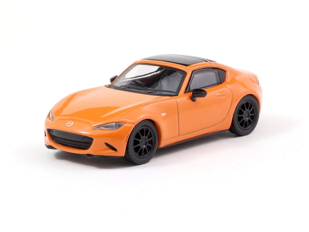Kyosho 1/64 Mazda Roadster RF Orange