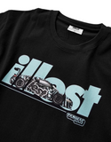illest x Tarmac Works Collab T-shirt - Camouflage R8 - Black