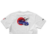 illest x Tarmac Works collab t-shirt - RWB 993 SuperNine - White