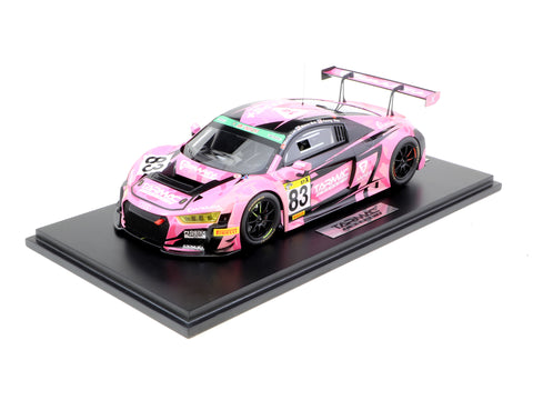 Tarmac Works 1/18 Audi R8 LMS Super Taikyu Series 2018 Marchy Lee / Melvin Moh / KW Lim
