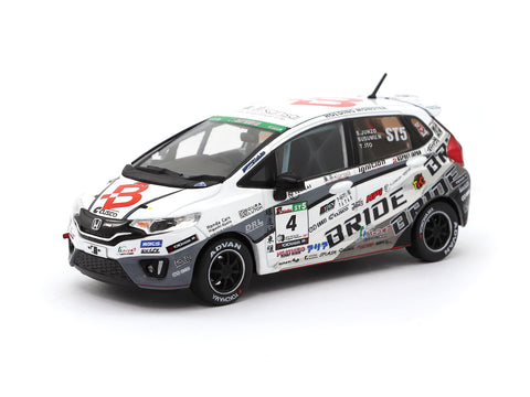 Tarmac Works 1/43 Honda Fit3 RS - Team BRIDE Super Taikyu 2017
