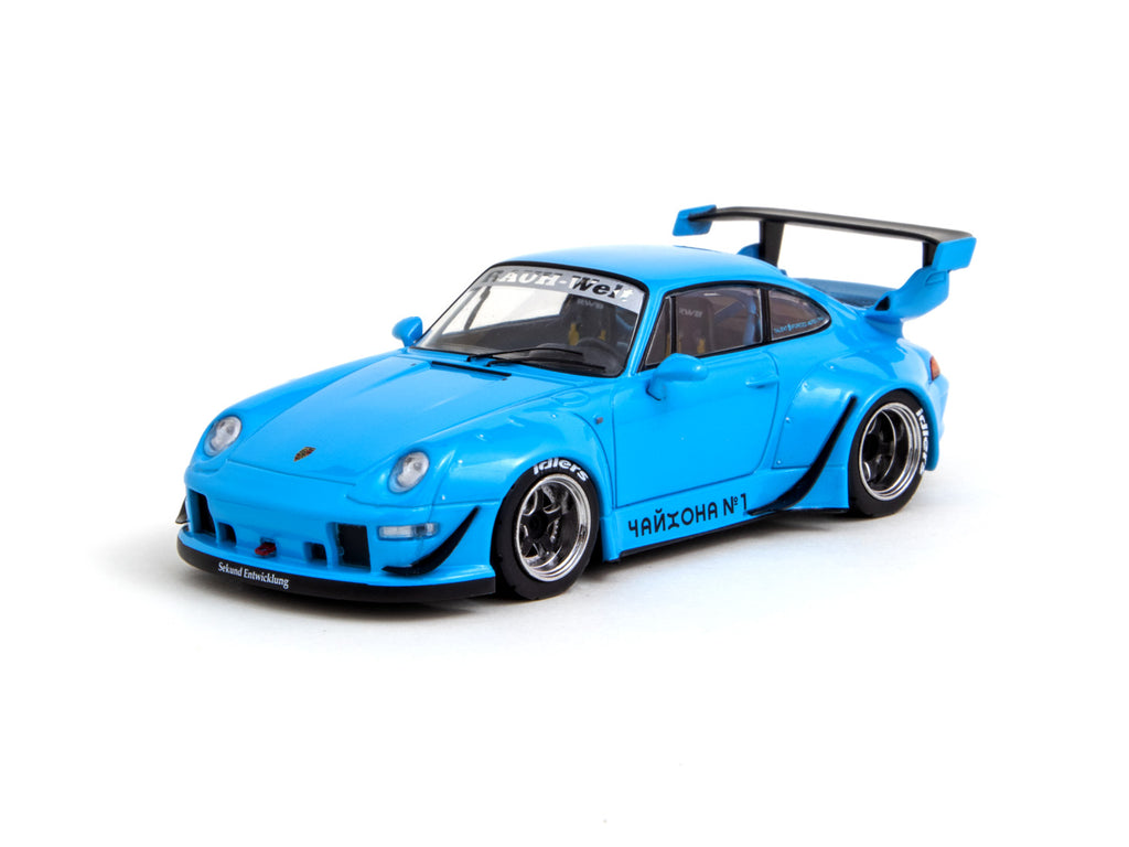 Tarmac Works 1/43 RWB 993 Blue - HOBBY43