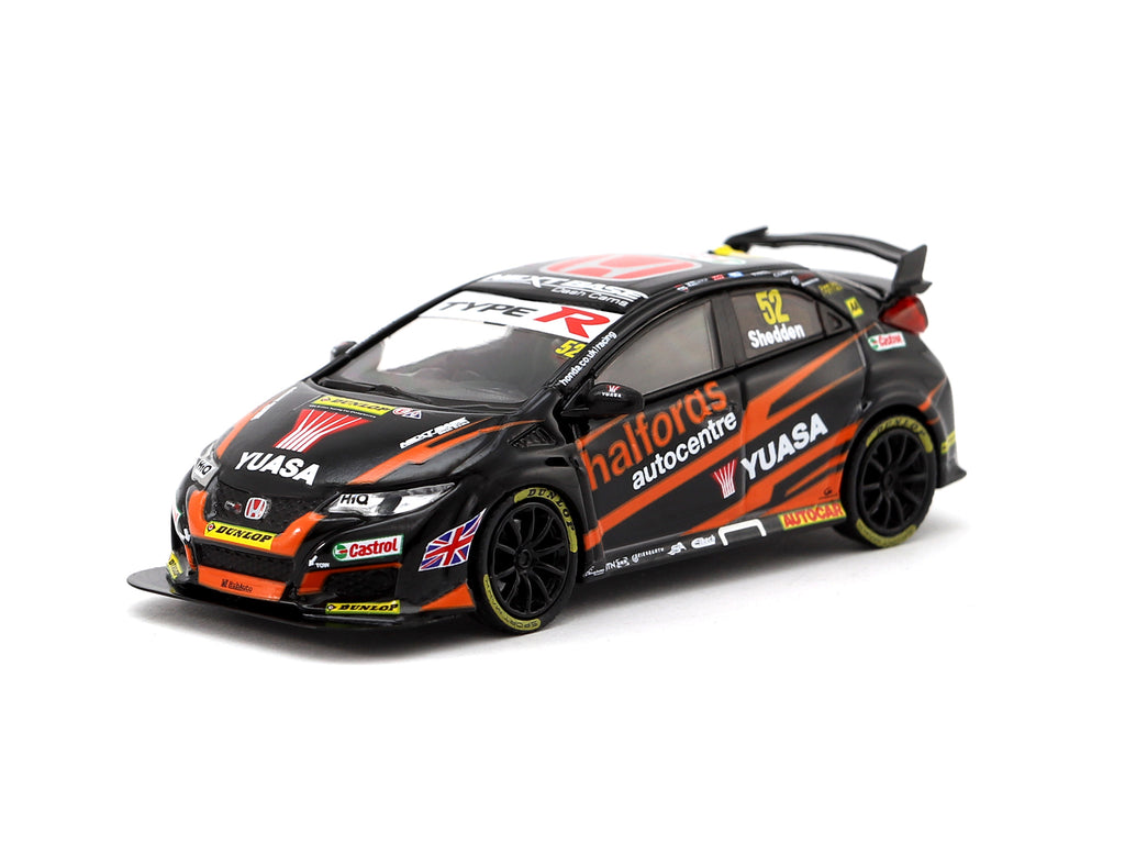 Tarmac Works 1/64 Honda Civic Type R FK2 BTCC 2017 #52 Gordon Shedden