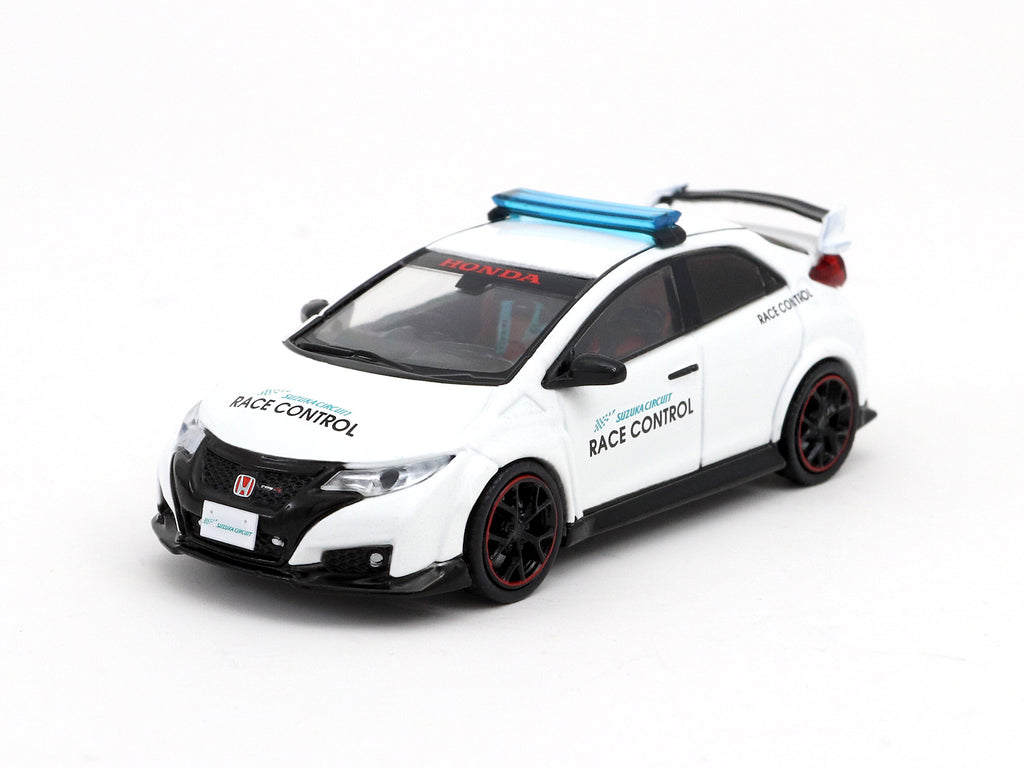 Tarmac Works 1/64 Honda Civic Type R FK2 Suzuka Circuit Race Control Car - Special Edition