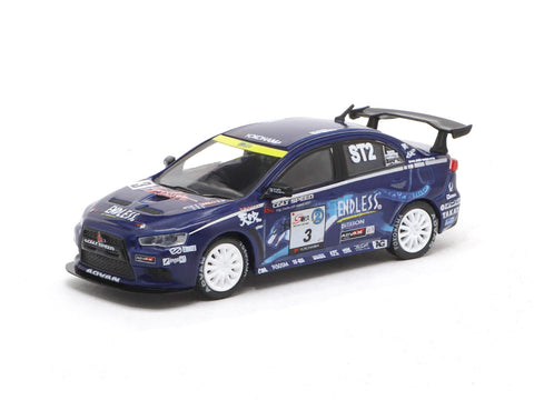 Tarmac Works 1/64 Mitsubishi Lancer Evolution X Super Taikyu Series 2010 #3