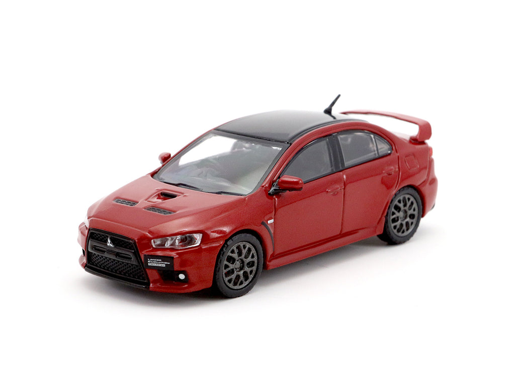 Tarmac Works 1/64 Mitsubishi Lancer Evolution X Final Edition - Rally Red