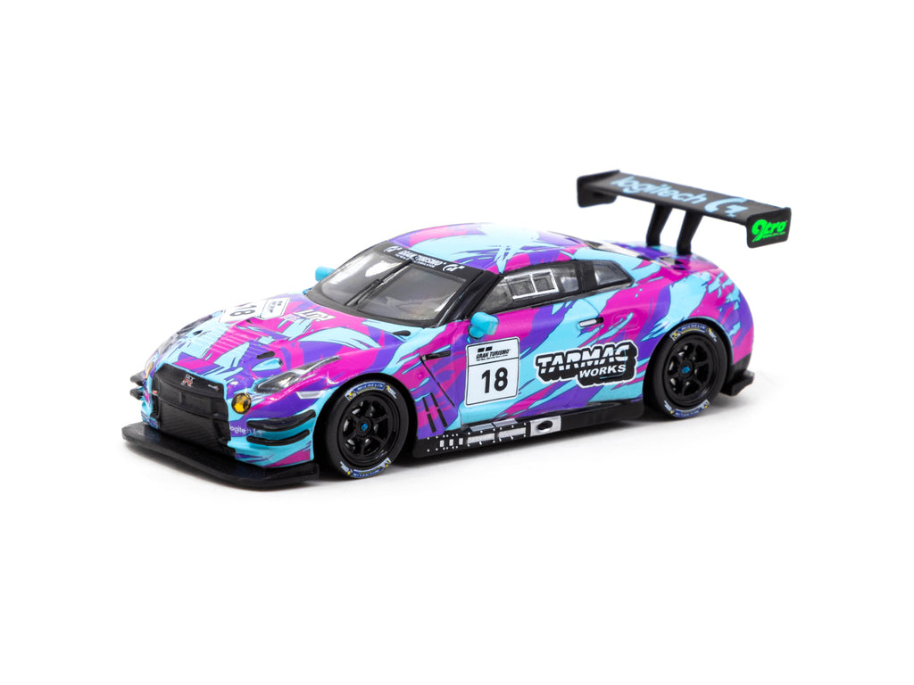 Tarmac Works 1/64 Nissan GT-R Nismo GT3 - Winner of Legion of Racers X Tarmac Works Livery Contest 2020 - HOBBY64