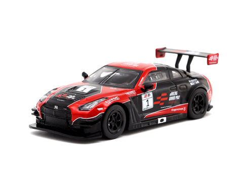Tarmac Works 1/64 Nissan GTR Nismo GT3 eRacing Grand Prix Hong Kong #1 - eRacing GP Special Edition - HOBBY64