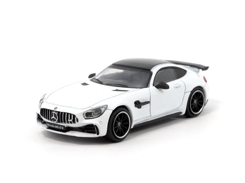 Tarmac Works 1/64 Mercede-AMG GT R - Designo Diamond White