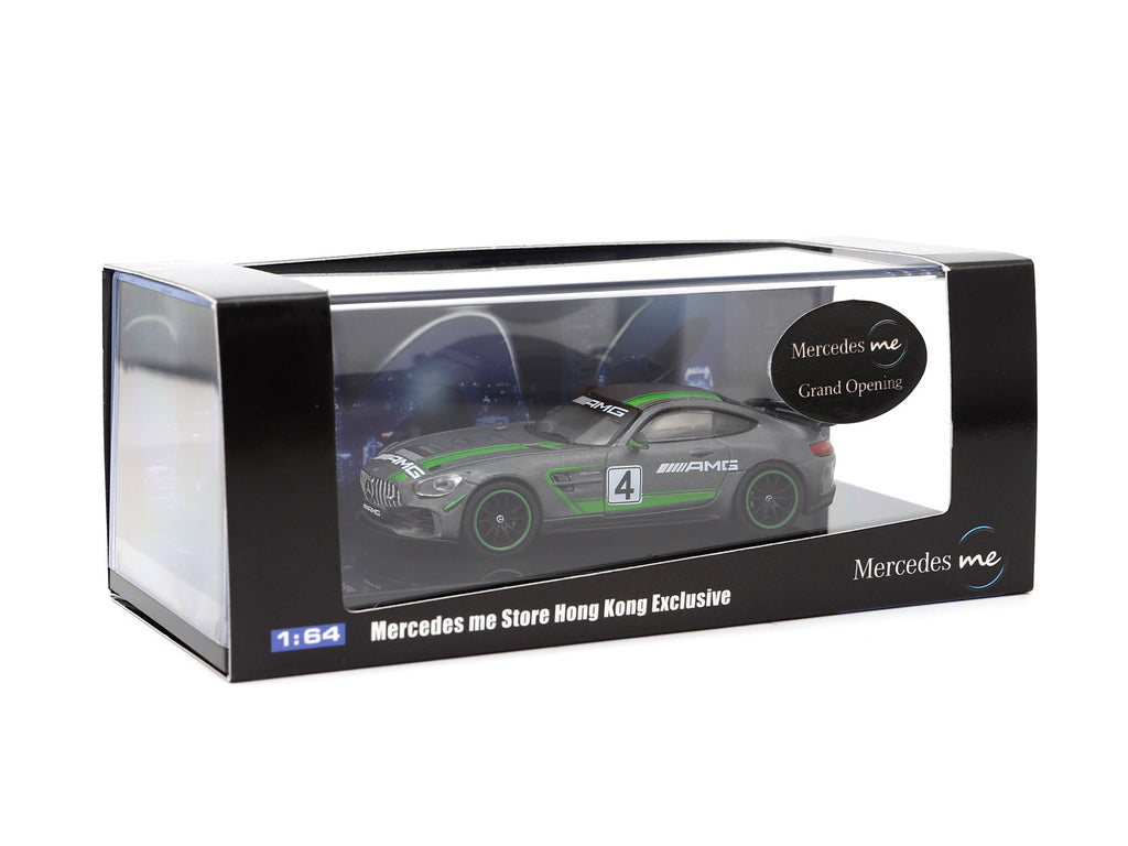 Tarmac Works 1/64 Mercedes-AMG GT4 - Mercedes me Store Hong Kong Exclusive - HOBBY64