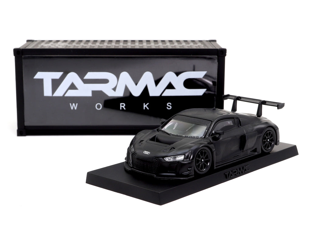 4A like Black x Tarmac Works 1/64 Audi R8 LMS - Black