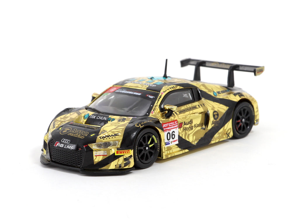 Tarmac Works 1/64 Audi R8 LMS - China GT 2017 - AAPE/ Tak Chun Group - Marchy Lee/ Alex Au