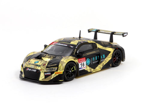 Tarmac Works 1/64 Audi R8 LMS - China GT 2017 - AAPE/ Tak Chun Group - M. Moh/ KW. Lin/ E. Lo
