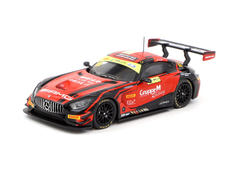 Tarmac Works 1/64 Mercedes-AMG GT3 Macau GT Cup - FIA GT World Cup 2018 #888 2nd Place - Macau GP 2019 Special Edition - HOBBY64