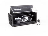 Tarmac Works 1/64 Mercedes-AMG GT3 4A Like Black No. 3 (White) with Container - Web Store Special - HOBBY64