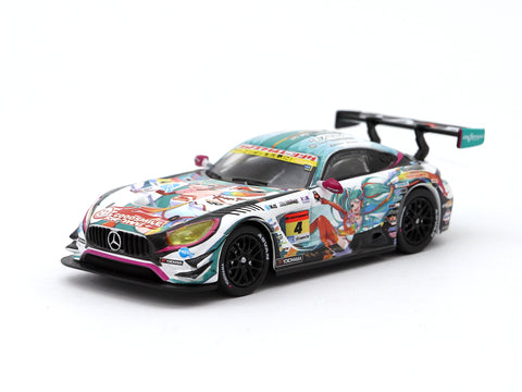 Tarmac Works 1/64 Mercedes-AMG GT3 Super GT300 2016 - Hong Kong Exclusive Model