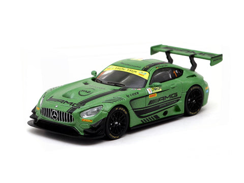 Tarmac Works 1/64 Mercedes-AMG GT3 -  FIA GT World Cup Macau 2016 3rd Place Maro Engel