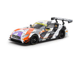 Tarmac Works 1/64 Mercedes-AMG GT3 Macau GT Cup - FIA GT World Cup 2017 #999 3rd Place - Give an Hour/320 Changes Direction Special Charity Edition - HOBBY64