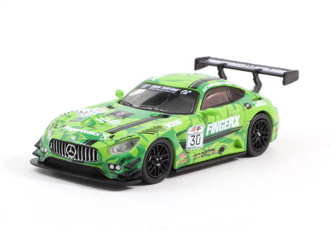 Tarmac Works 1/64 Mercedes-AMG GT3 eRacing Grand Prix Hong Kong Fingercroxx Team