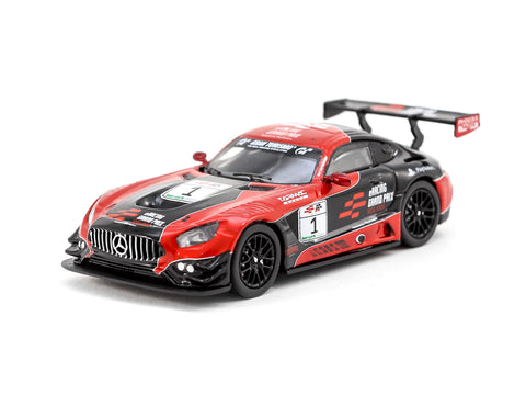*Special Edition* Tarmac Works 1/64 Mercedes-AMG GT3 eRacing Grand Prix Hong Kong