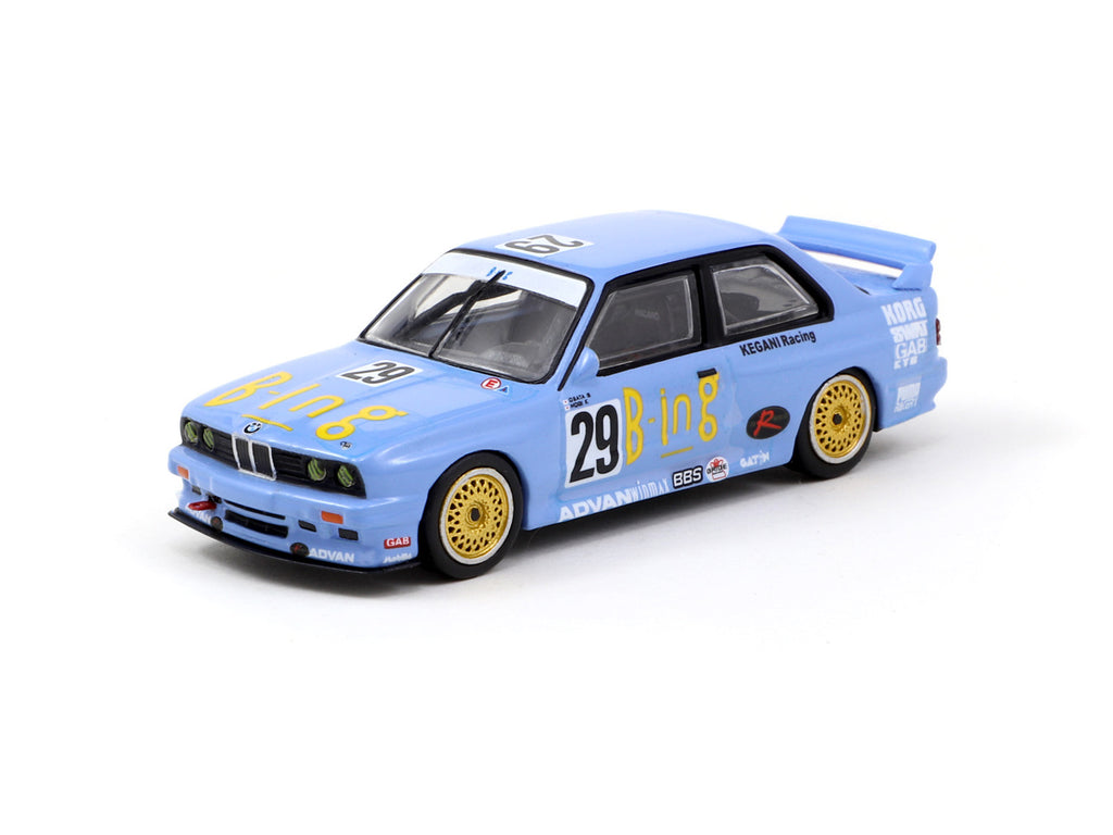 Tarmac Works 1/64 BMW M3 E30 JTCC 1992 Division 2 Champion - Japan Special Edition
