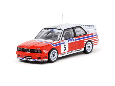 Tarmac Works 1/64 BMW M3 (E30) Spa 24 Hours Race 1992 #5 Winner - HOBBY64